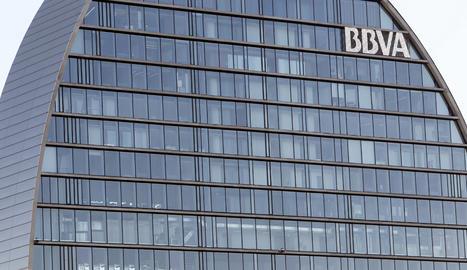 El BBVA guanya 5.324 milions el 2018, un 51% més