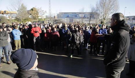 Prop de 400 voluntaris van participar ahir en el dispositiu de recerca, que va començar a primera hora del matí a les Borges.