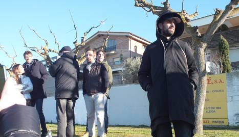 Gerard Piqué, a Tàrrega
