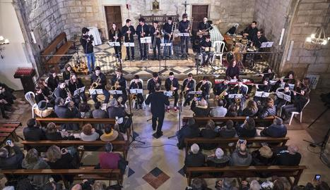 La parròquia de Preixana acull una actuació de 'Musicant l'Urgell'