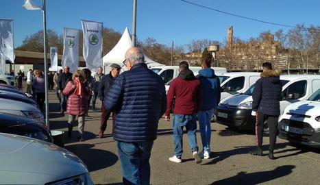 El recinte firal de Lleida Ocasió.