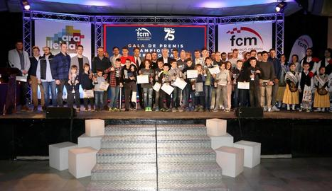 Lleida distingeix els seus campions a la gala d'Almacelles