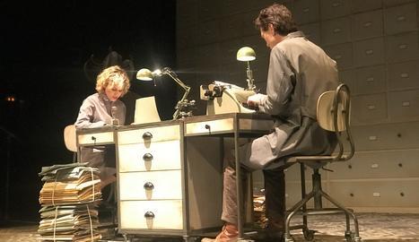 L'obra 'La nena dels pardals', a Juneda