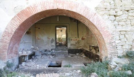 Imatge d'arxiu del complex tancat de l'antiga Mitasa.