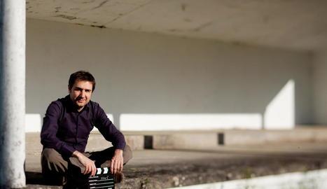 El músic i compositor lleidatà Xavi Font, establert des de fa uns anys a Santiago de Compostel·la.