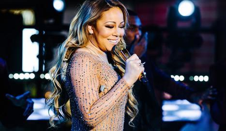La cantant Mariah Carey.