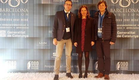 Marc Solsona, Muntsa Vilalta i Àlex Culleré, a la 080.
