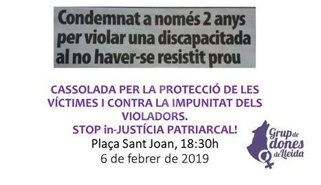 El cartell de la concentració publicat a les xarxes aquest dimecres