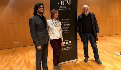 Presentació ahir a l'Auditori Enric Granados.