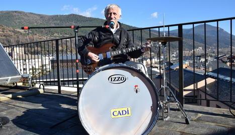 El popular música de la Seu d'Urgell Joan Ribolleda 'Truqui'.