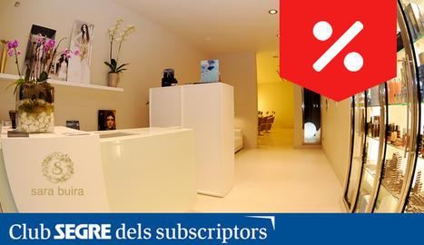 El Centre d'Estètica Sara Buira és un espai innovador en tractaments cosmètics.