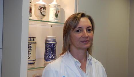La doctora Irene Mangues.