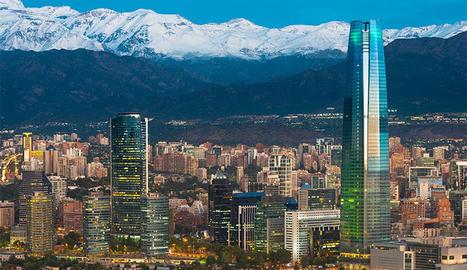 Imatge de Santiago de Xile. Jordi Aguilar va morir accidentat a uns 300 quilòmetres al sud de la ciutat.
