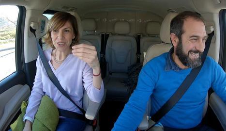 Cristina Puig puja 'Al cotxe'