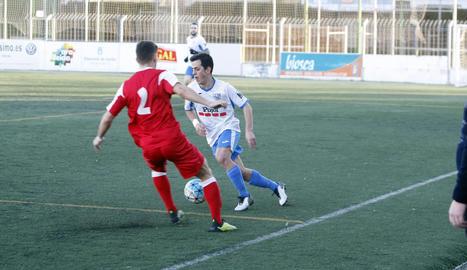 El Mollerussa va jugar un bon primer temps, però es va desdibuixar després del descans i va acabar perdent (1-3).