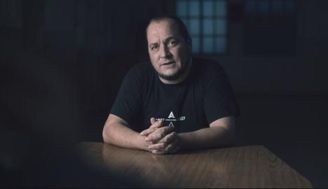 El periodista David Fernàndez, un dels testimonis.