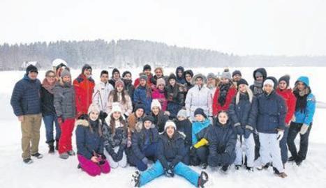 Estudiants del Manuel de Montsuar, d'intercanvi a Finlàndia
