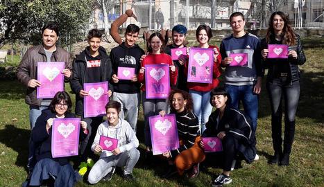 Campanya de prevenció de la violència de gènere a Tàrrega