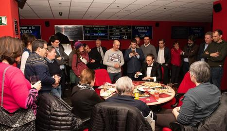 Una de les activitats de la inauguració del bingo de Bossòst.