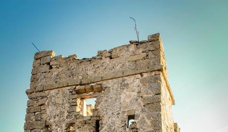 Monestir de sant ruf. Les seves restes es troben a dos quilòmetres de Lleida, al costat de la carretera de Torre-serona.