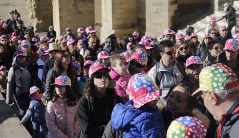 Sis mil persones van assistir a la festa a la Seu Vella de Lleida per recaptar fons contra el càncer infantil
