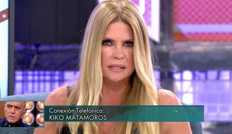 Makoke, en plena baralla amb Kiko.
