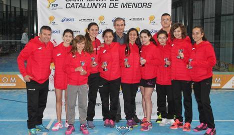 Lleida i Juneda ascendeixen a 1a Categoria del Català de pàdel