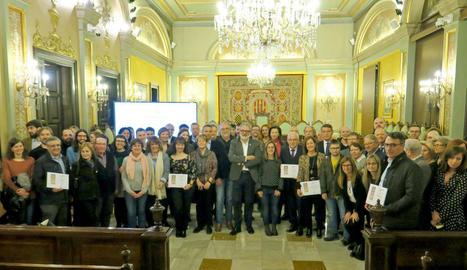 Premiades 28 empreses de Lleida per la seua solidaritat