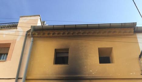 L'habitatge de Preixens en què hi va haver tres intoxicades.