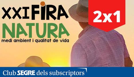 Cartell de l'edició d'enguany de Fira Natura, la fira del medi ambient i la qualitat de vida.