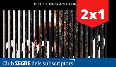 El cartell de la nova edició del Festival Músiques Disperses, MUD 2019.