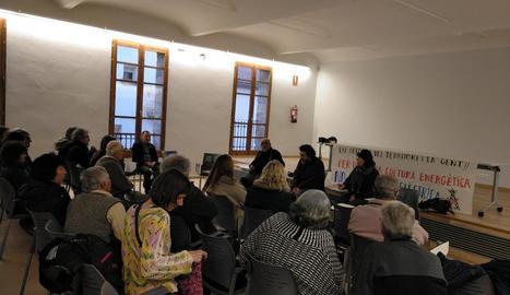 L'assemblea celebrada ahir a la tarda al municipi d'Isona.