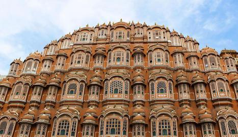Foto de la façana del Hawa Mahal (Índia) feta per una de les guanyadores, la Marta Chàfer.