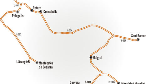 Castells: la Plana de Cervera i els Plans de Sió