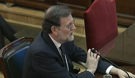 L'expresident del Govern Mariano Rajoy aquest dimecres al Suprem.