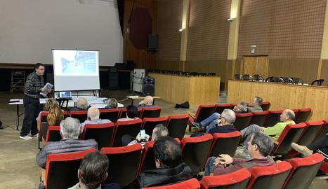 La reunió veïnal que s'ha fet aquesta setmana a Castelldans.