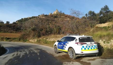 Imatge d'arxiu d'un vehicle de la Policia de Solsona.