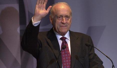 L'expresident del PNB Xabier Arzalluz, mort ahir a l'edat de 86 anys a Bilbao.