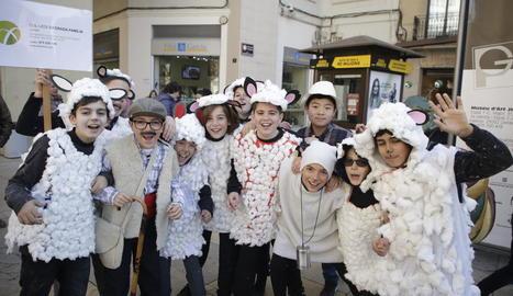 Desfilada infantil pel Centre Històric.