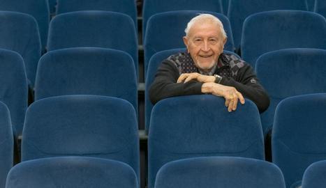 """Josep Vallverdú: """"Sempre havia volgut ser guionista de cine i amb 95 anys he fet un guió"""""""