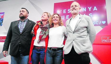 Marc Lamuà (Girona), Mínguez, Batet i Joan Ruiz (Tarragona).