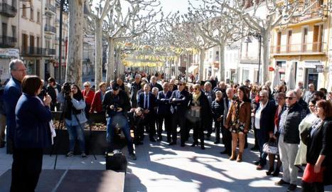 Inauguració de les obres de reforma de la rambla Pearson.