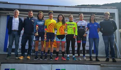 Maria Isan, tercera a la Copa Catalana de carretera