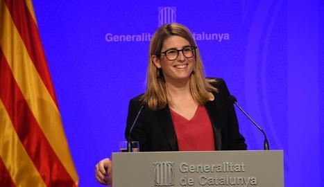 La consellera de la Presidència i portaveu del Govern, Elsa Artadi.