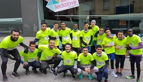 El Palma Running Team es prepara per a la Cursa Bombers de Lleida