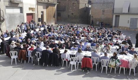 El menjar i la música, protagonistes a Oliana.