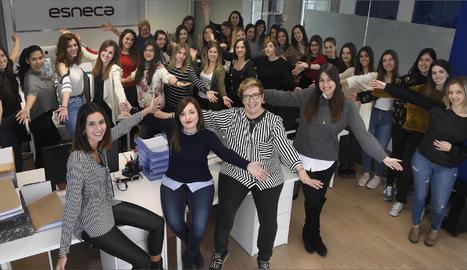 Les dones de l'equip de Esneca