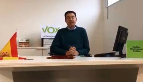 Vox suspèn de militància el membre del partit detingut a Lleida