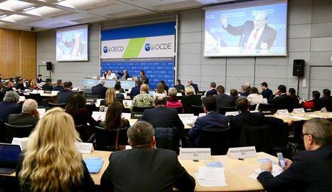Imatge de l'OCDE Parlament, celebrat el 14 de febrer.