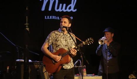 Depedro, ahir durant el concert inaugural del MUD al Cafè del Teatre de Lleida.